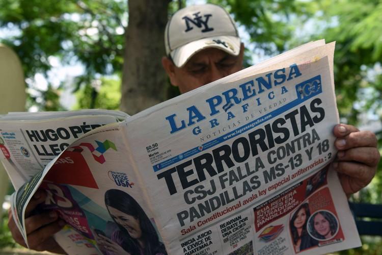 Le procureur général du Salvador, Luis Martinez, a annoncé, mardi,... (PHOTO AFP)