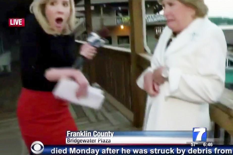 Les victimes de la fusillade, Alison Parker et... (IMAGE WDBJ7/CBS/YOUTUBE)
