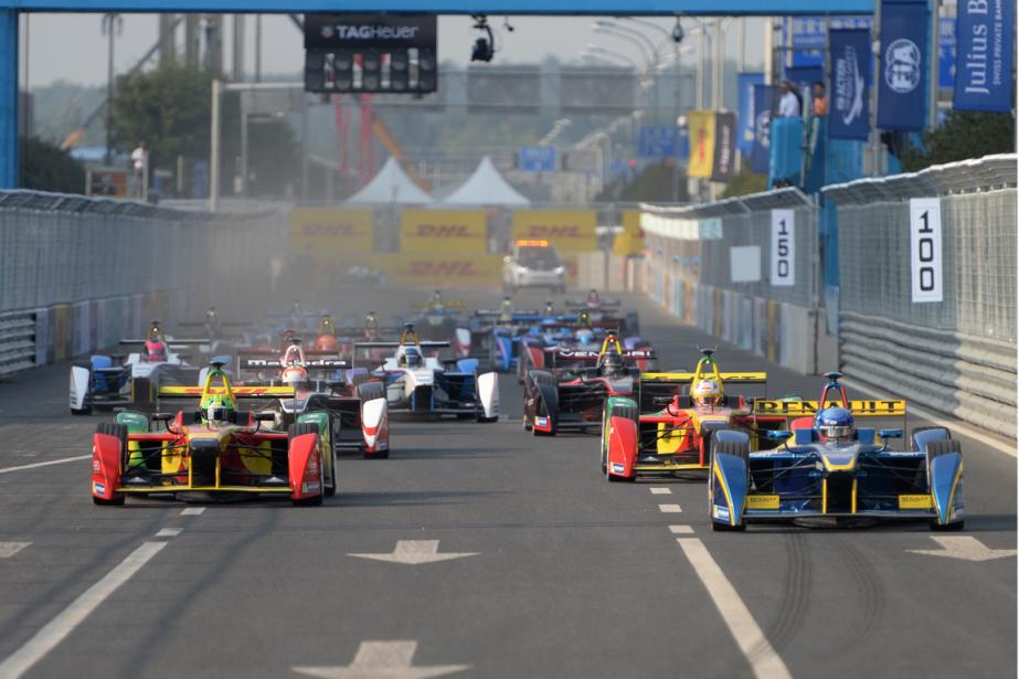 Montréal devrait accueillir une course de Formule E... (Photo Goh Chai Hin, archives AFP)