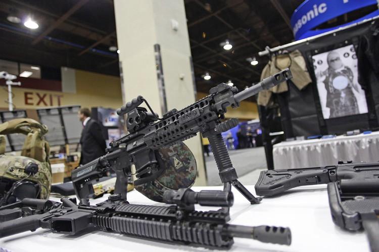 Un fusil d'assaut AR-15.... (PHOTO REUTERS)