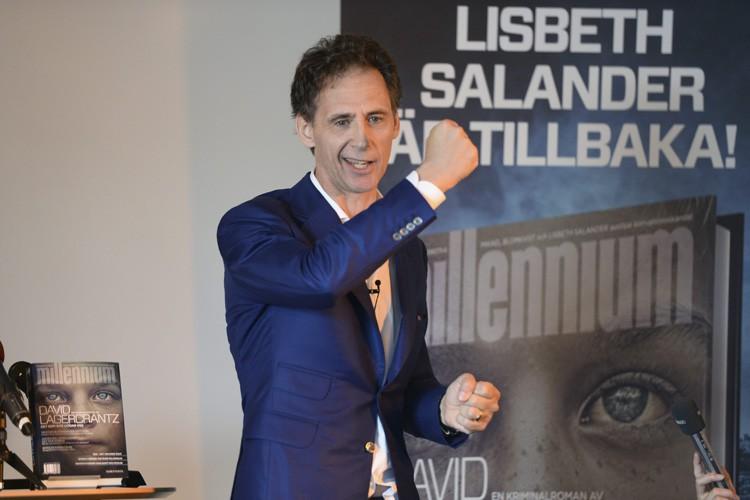 L'auteurDavid Lagercrantz.... (PHOTO AP)