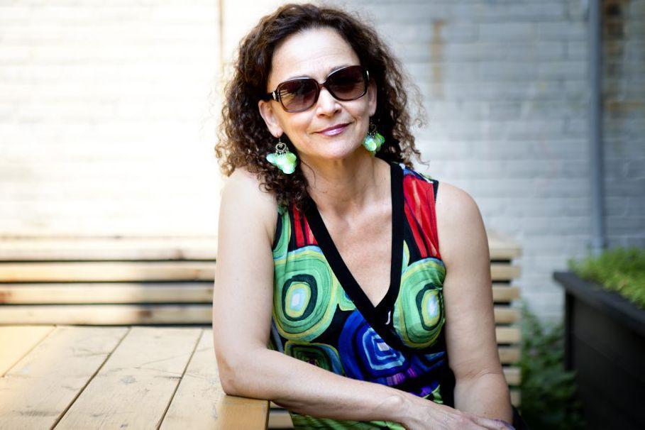 PHOTO MARCO CAMPANOZZI, LA PRESSE---Portrait de la comedienne...