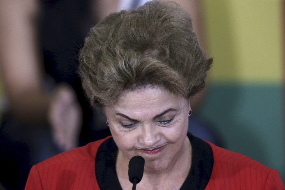 La présidente du Brésil, Dilma Rousseff.... (PHOTO UESLEI MARCELINO, ARCHIVES REUTERS)