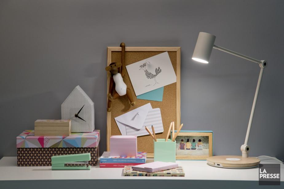 De jolis accessoires de bureau pour un retour à... (PHOTO DAVID BOILY, LA PRESSE)