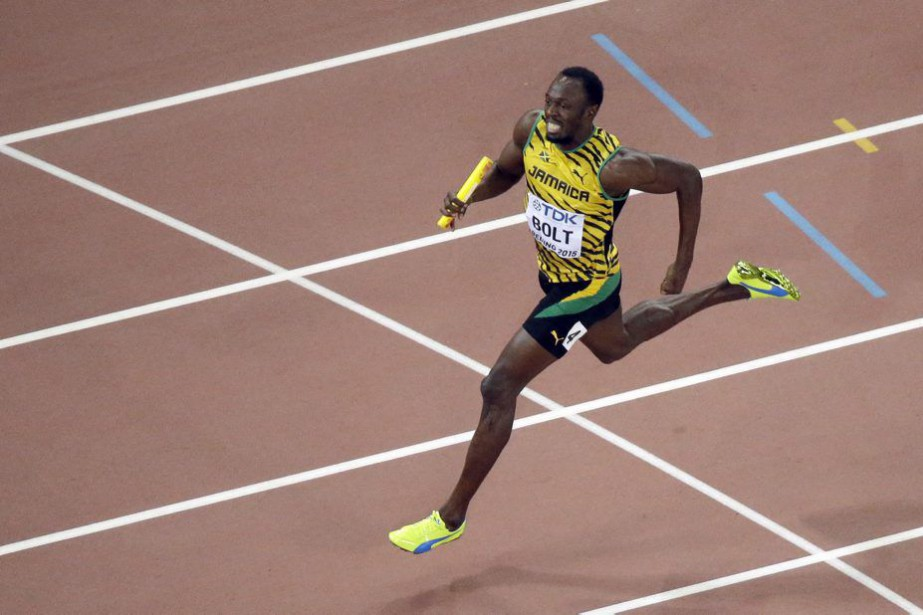 Usain Bolt... (Photo Wong Maye-E, AP)