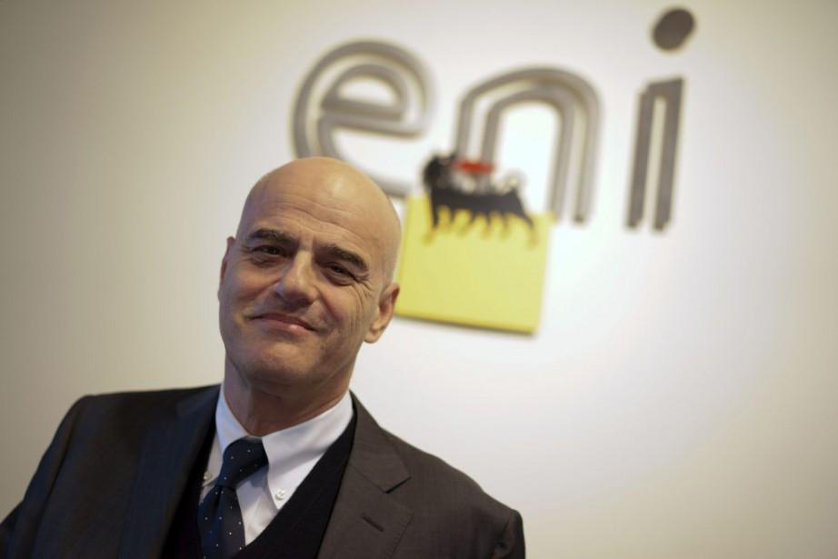 Le directeur général d'ENI, Claudio Descalzi.... (Photo Andrew Medichini, archives AP)