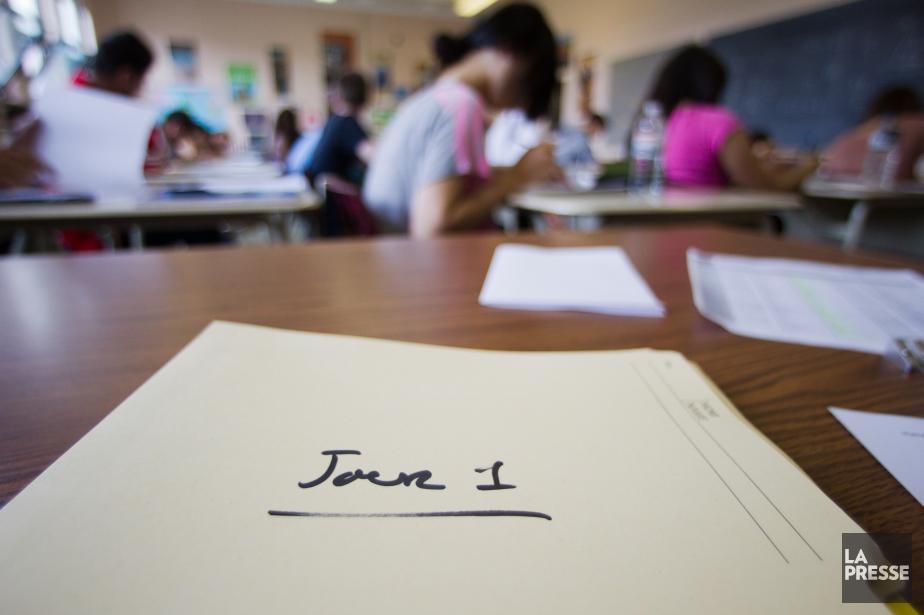 Dès la rentrée scolaire, qui doit avoir lieu... (PHOTO IVANOH DEMERS, LA PRESSE)