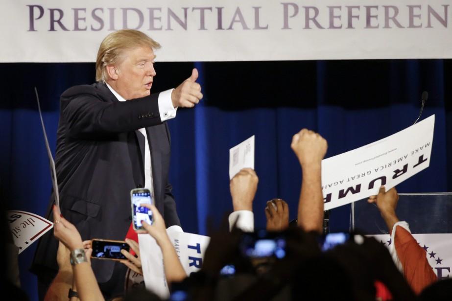 Depuis le lancement de sa campagne présidentielle en... (PHOTO MARK HUMPHREY, AP)