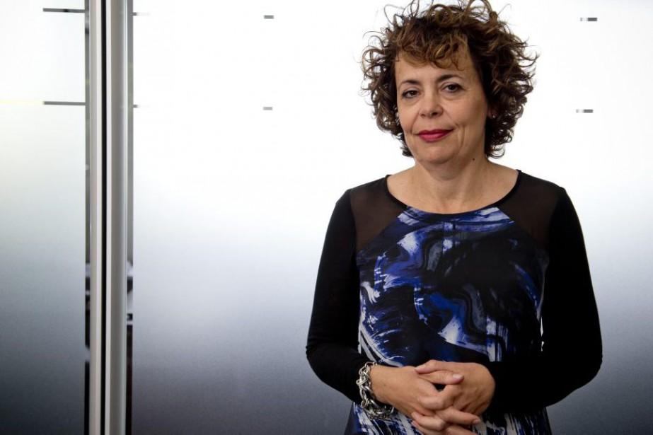 MarieCollin, la nouvelle présidente-directrice générale de Télé-Québec, a...