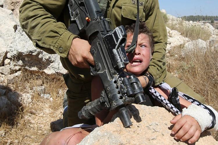 «Je n'ai pas eu peur», fanfaronne Mohammed Tamimi,... (PHOTO AFP)