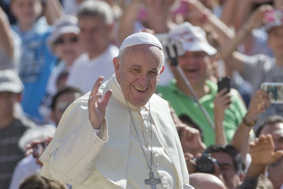 Le pape, qui a qualifié l'avortement d'«horreur», déclare... (PHOTO ALESSANDRA TARANTINO, AP)