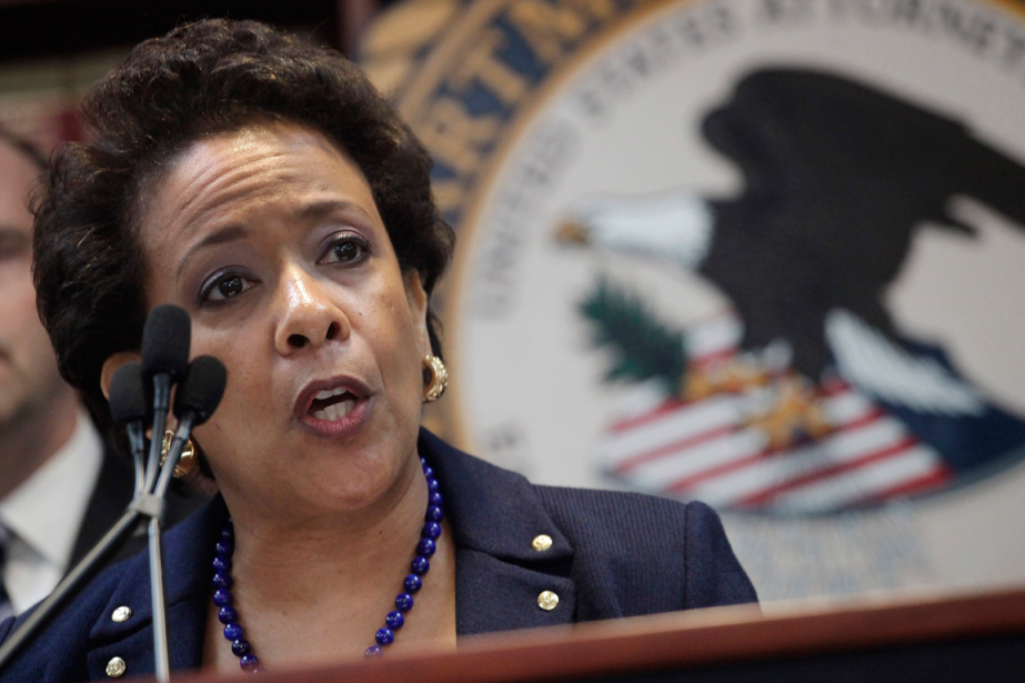 La procureure générale des États-Unis, Loretta Lynch.... (Photo Mark Lennihan, archives AP)