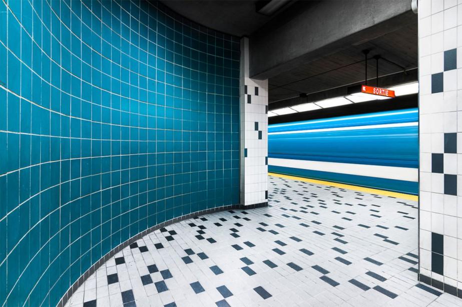 La station Champs-de-Mars vue par Chris M Forsyt.... (PHOTO TIRÉE DU SITE WEB DE CHRIS FORSYTH)