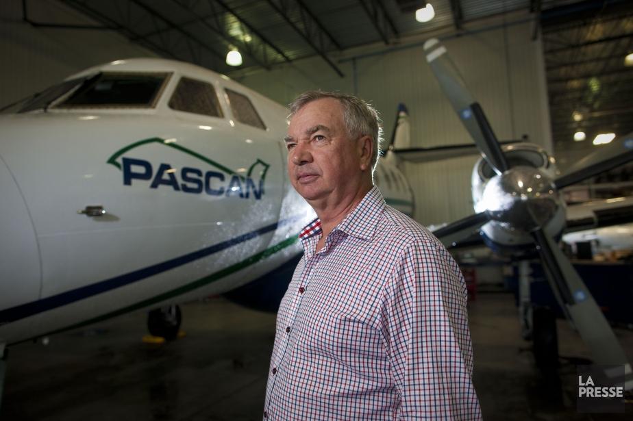 Le PDG de Pascan Aviation, Serge Charron... (Photo André Pichette, archives La Presse)