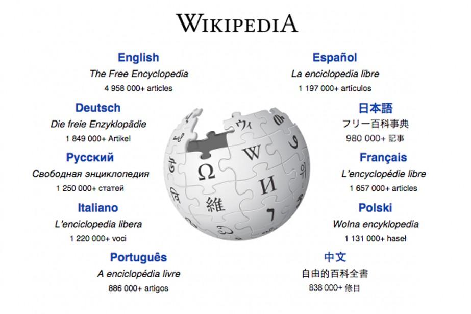 La fondation gérant l'encyclopédie en ligne Wikipedia a été... (CAPTURE D'ÉCRAN)