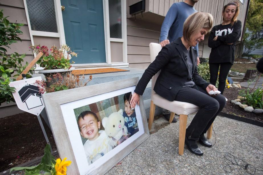 La tante du petit garçon s'est adressée aux... (Photo La Presse Canadienne)