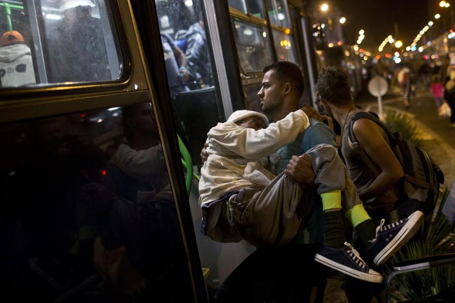 Vienne a annoncé dans la nuit que l'Autriche... (Photo Marko Drobnjakovic, AP)
