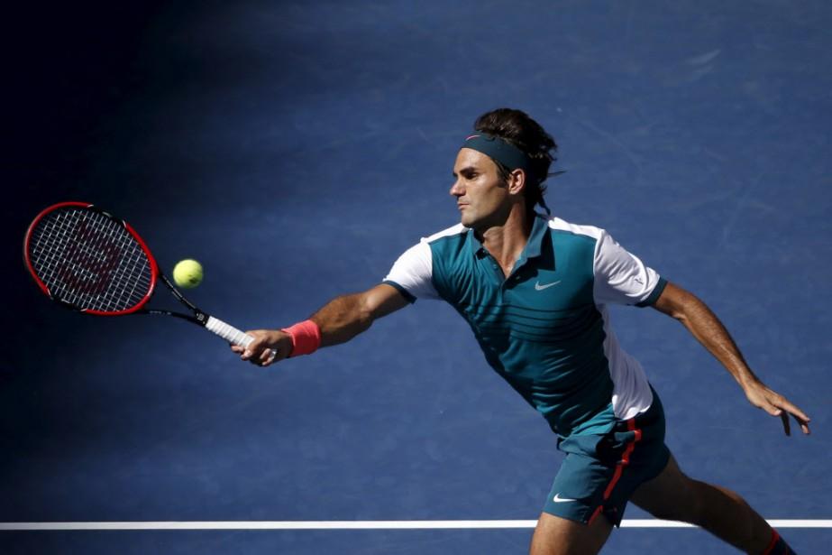 Federer a gagné chacun des neufs sets lors... (Photo Mike Segar, Reuters)