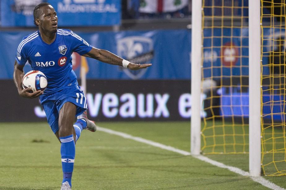 Didier Drogba... (Photo Graham Hughes, La Presse Canadienne)