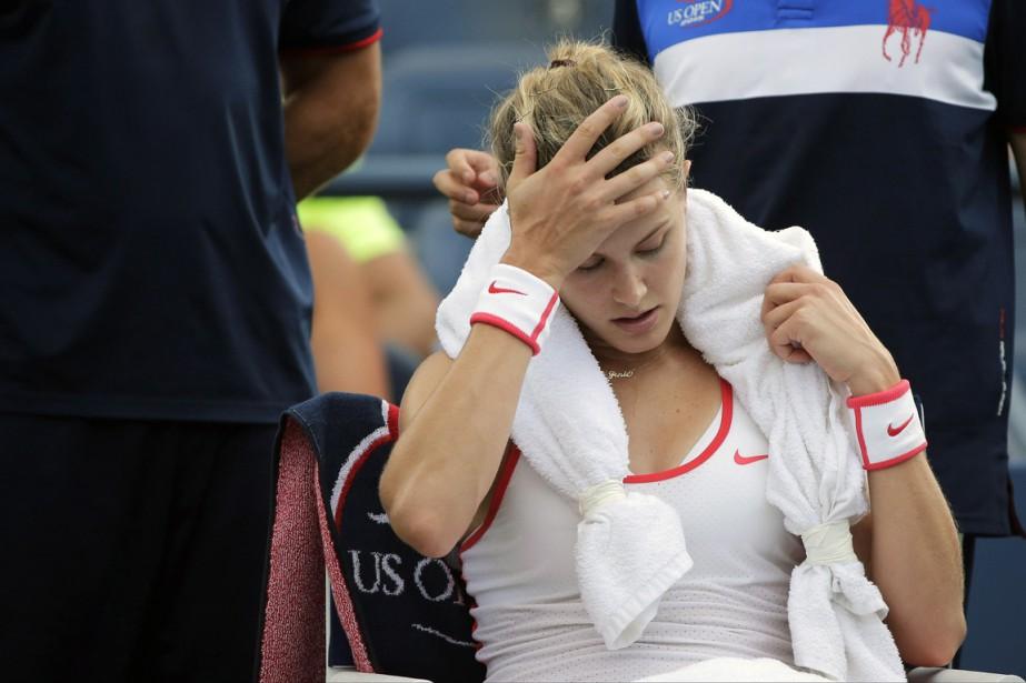 Les organisateurs du tournoi ont indiqué qu'Eugenie Bouchard... (Photo archives AP)