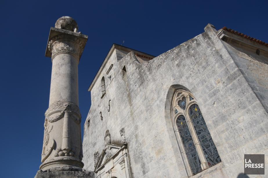 L'église de Brouage rend hommage aux allées et... (Photo Sylvain Sarrazin, La Presse)