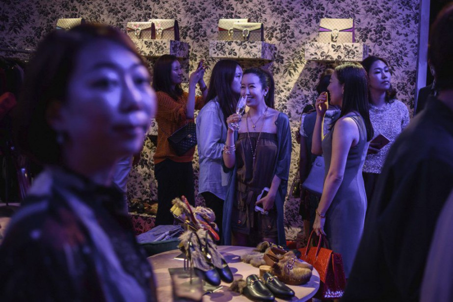 L'Asie est un marché clé pour l'industrie du... (PHOTO ED JONES, AFP)
