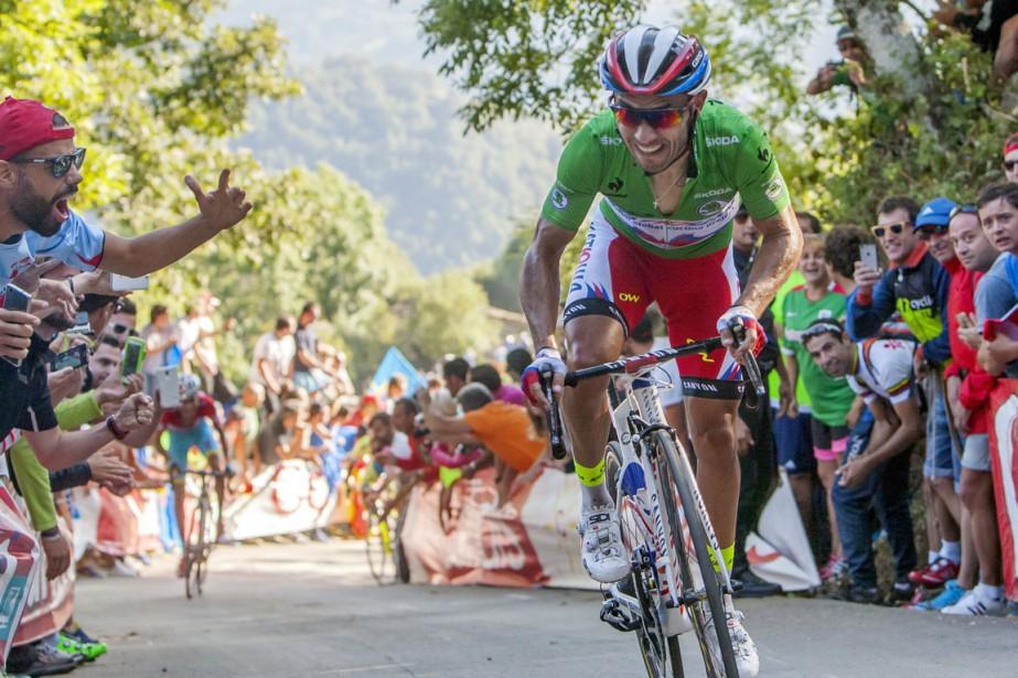 Joaquim Rodriguez... (Photo Joseba Etxaburu, Reuters)