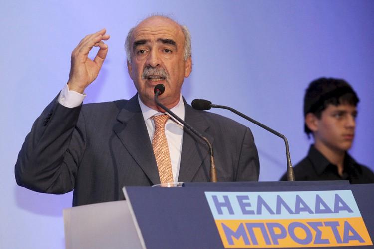 Le chef du parti Nouvelle-Démocratie, Evangelos Meïmarakis.... (PHOTO REUTERS)