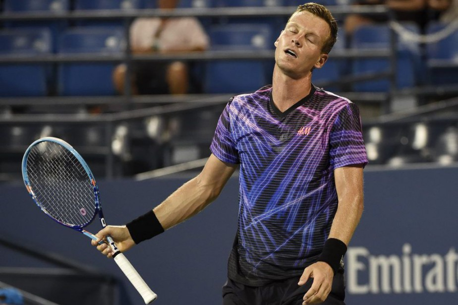 Tomas Berdych... (Photo Kathy Kmonicek, archives AP)