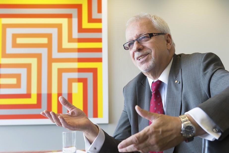 Pierre Marc Johnson est négociateur en chef pour... (PHOTO ROBERT SKINNER, LA PRESSE)
