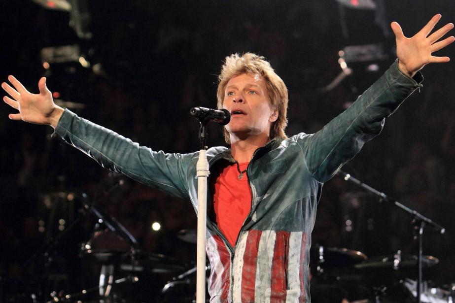 Jon Bon Jovi... (PHOTO ARCHIVES AP)