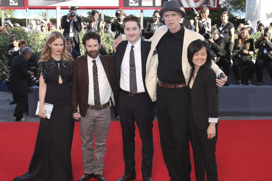 L'équipe du film Anomalisa: l'actrice Jennifer Jason Leigh,... (PHOTO AP)