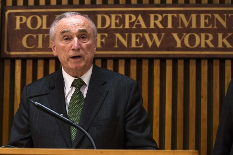 Le chef de la police de New York... (PHOTO REUTERS)