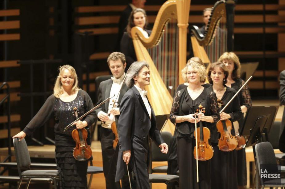 La distribution: Kent Nagano, chef d'orchestre, Hélène Guilmette,... (PHOTO ANDRÉ PICHETTE, LA PRESSE)