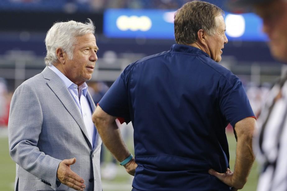 Plusieurs équipes de la NFL soupçonnent de tricherie... (PHOTO WINSLOW TOWNSON, ASSOCIATED PRESS)