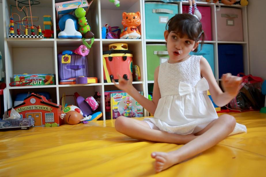 Graciela habite à Monterrey et souffre du syndrome... (PHOTO CARLOS RAMIREZ, AFP)