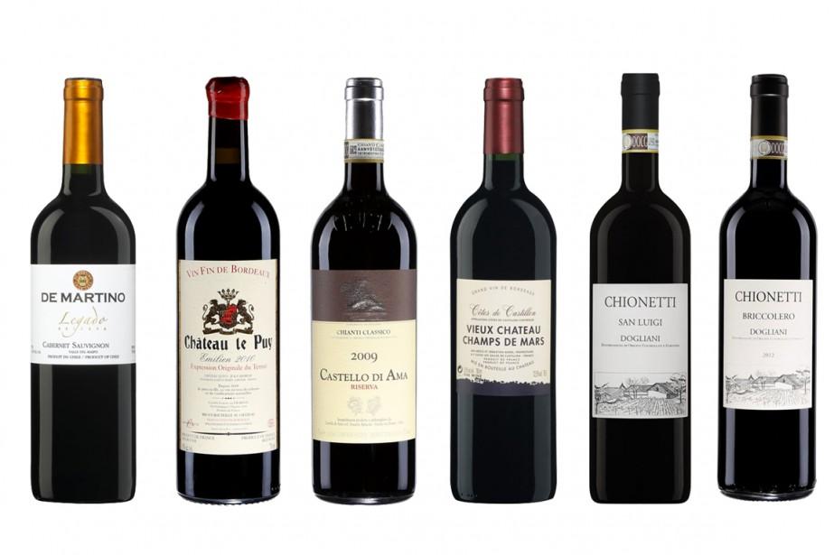 Tous les vins ne sont pas faits pour la garde.... (Photos fournies par la SAQ)