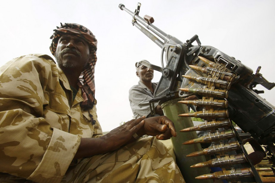 LesRapid Support Forces(RSF), une milice proche du gouvernement... (PHOTO ASHRAF SHAZLY, AFP)