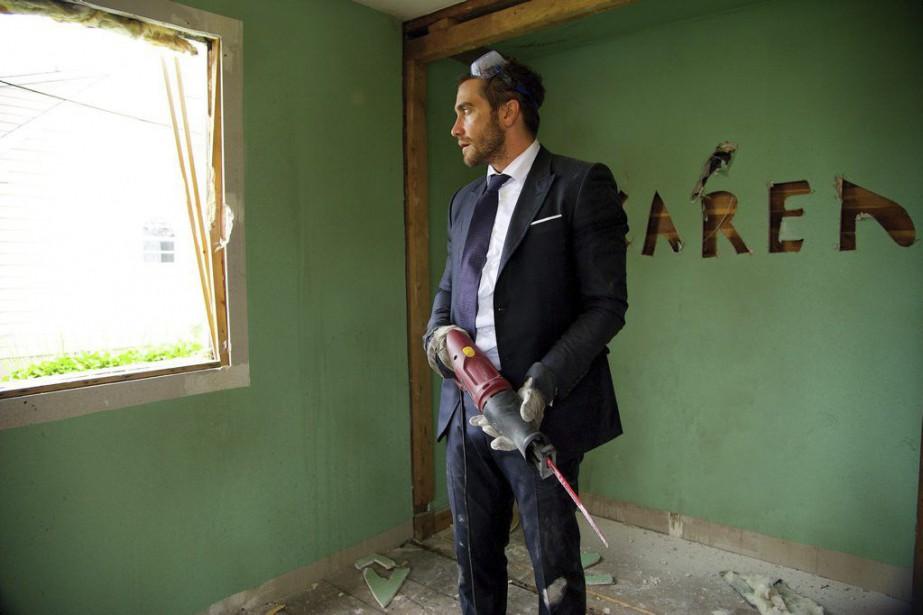 Jake Gyllenhaal dans une scène du film Demolition... (PHOTO LA PRESSE CANADIENNE)