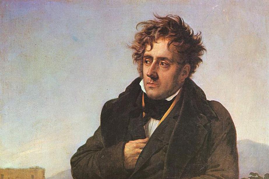 Après des revers de fortune, François-René de Chateaubriand... (PHOTO WIKIPEDIA)