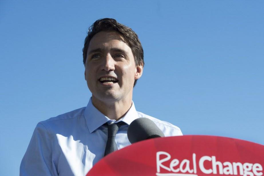 Justin Trudeau... (PHOTO JONATHAN HAYWARD, LA PRESSE CANADIENNE)