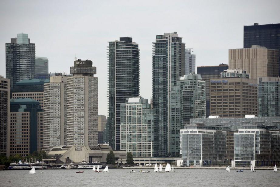 La ville de Toronto.... (Photo John David Mercer-USA TODAY Sports)