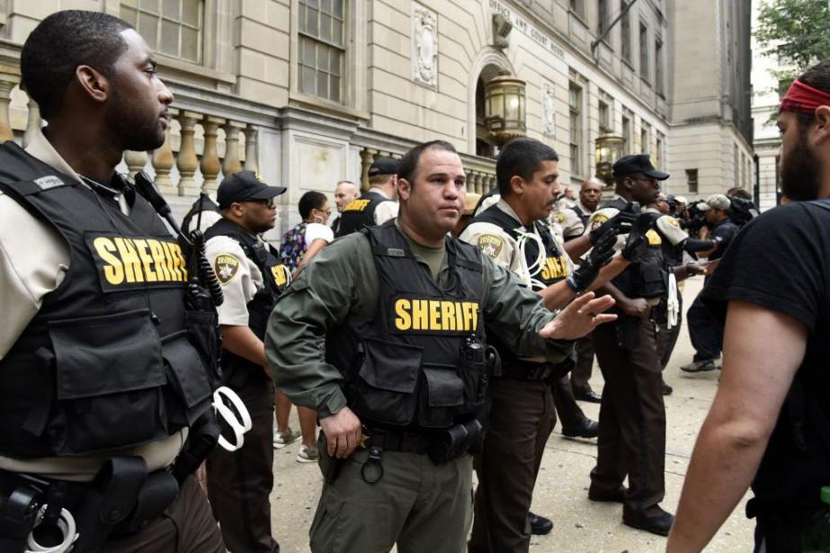 La nouvelle de la non-délocalisation du procès a... (Photo Barbara Haddock Taylor/Baltimore Sun, AP)
