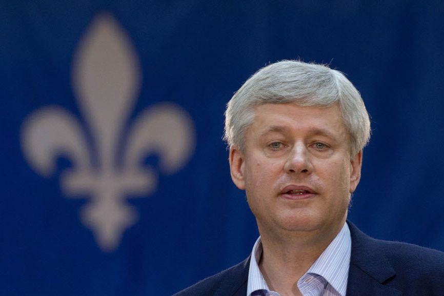 Stephen Harper a promis le prolongement, sur cinq... (Photo Adrian Wyld, La Presse canadienne)