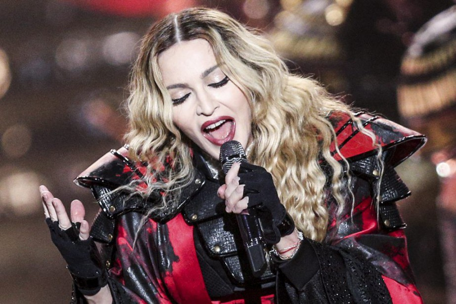 Madonna performs at the opening night of her...