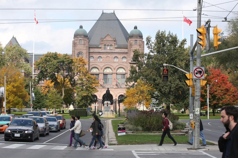L'Université de Toronto, sur l'avenue University... (Photo archives Toronto Star)