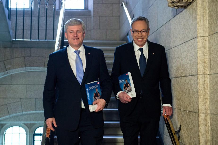 «Le gouvernement de Stephen Harper [qu'on voit ici... (Photo Justin Tang, archives La Presse Canadienne)