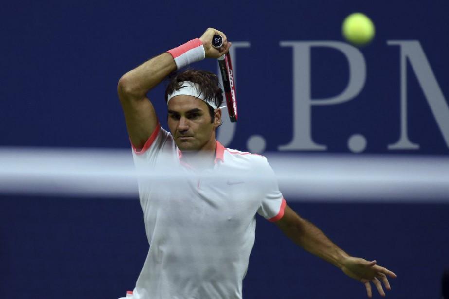 Roger Federer... (PHOTO JEWEL SAMAD, AFP)
