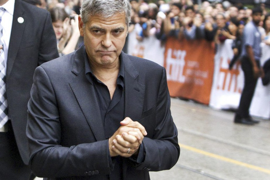 George Clooney... (PHOTO FRED THORNHILL, REUTERS)