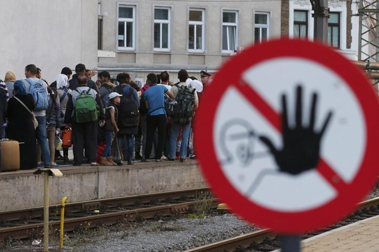 Le trafic ferroviaire entre l'Allemagne et l'Autriche a... (PHOTO REUTERS)